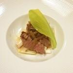 日本料理松風庵 - 肉料理。