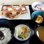 山喜 - 料理写真:久田見のあげ生姜焼定食 860円