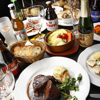 ベルギービール専門店でスタイリッシュなご宴会はいかがですか?