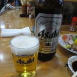 正起屋 - 瓶ビール(大瓶) 500円