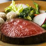 【土日祝限定20食!80日熟成ローストビーフ含むプリフィクス】