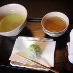 3747332 - 生菓子と抹茶セット