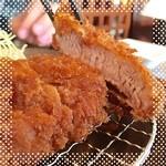 マ・メゾンのとんかつ - 料理写真:ヒレカツ定食