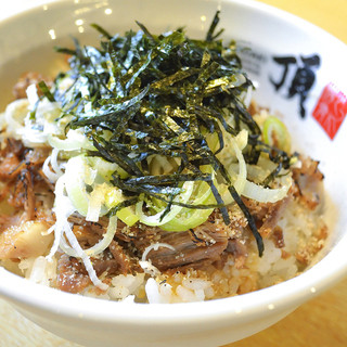 チャーシュー丼&餃子