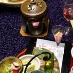 37471394 - 卯月のお料理、いわゆる温泉旅館とは異なる味の創造力