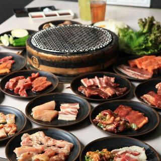 食べ放題の肉の種類