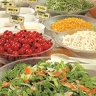 野菜ソムリエのファミリーサラダバー