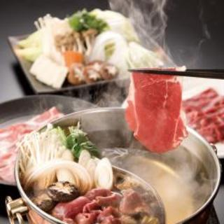 【ディナー】夜は肉も野菜もたっぷりのお鍋【食べ放題】