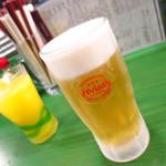 居酒屋りょう次 新横浜店 - オリオン(中)550円