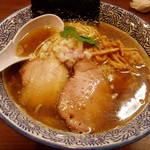 煮干しつけ麺 宮元 - 極上煮干しそば 780円
