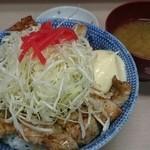 味楽 - 炭火焼き豚肉セット