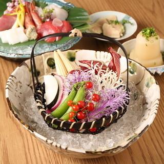 地元食材を中心に使った和創作タパス