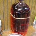 大串 - 卓上の梅シロップ