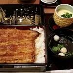 37476140 - 鰻重桜セット 4108円