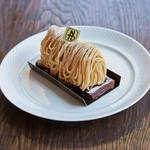中島大祥堂 - 料理写真:かやぶき(丹波栗のモンブラン)