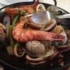ドン・キホーテ - 料理写真:パエリア・ア・ラ・バレンシア(2人前)(マスターが混ぜた後)3200円