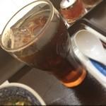 ブルーパパイヤ - アイスコーヒー