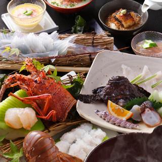 刺身だけでなく煮付や焼物、一品料理までご用意しております!