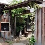 パチャンガ - 一軒家カフェ パチャンガの入口