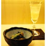 37484223 - 「お通しと食前酒」(2015.04)