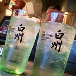 日本酒バル Funky原田2 波平ESSENCE - 白州ハイボール