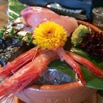日本酒バル Funky原田2 波平ESSENCE - 鮮魚のお通し、二人前