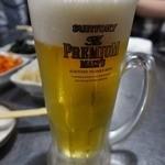 新宿ポジャンマチャ - 生ビール