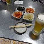 新宿ポジャンマチャ - お通は韓国流にキムチ