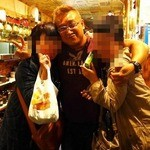 新宿ポジャンマチャ - 最後に陽気な社長さんを囲んで記念撮影