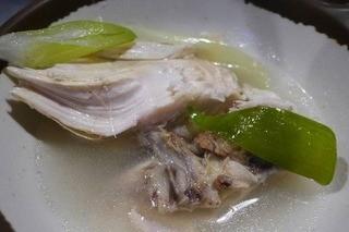 新宿ポジャンマチャ - スープがサッパリしていて実に旨い