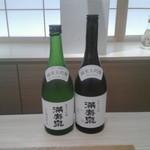 丸八製茶場 syn - 反則技の満寿泉・純米大吟醸