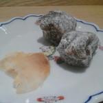 丸八製茶場 syn - フグの粕漬けと柚餅子