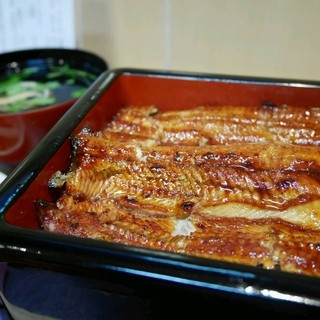 鰻 むさし乃 - 料理写真:新仔鰻重