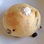 ルージュブラン - 抹茶クリームパン(165円)