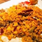 カレー週イチ - スリランカプレートは混ぜて食べる
