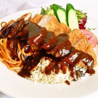 ◇洋食発祥の地長崎で生まれたトルコライスが食べれる店◇