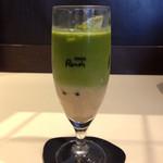 喫茶室 ルノアール - アイス黒蜜宇治抹茶ミルク。名前が長い