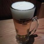 麺やひだまり - 生ビール