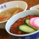 まるみ食堂 - いくら丼(ハーフ)