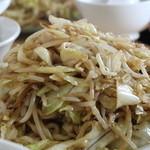 塩山館食堂 - 野菜炒め