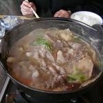 民芸茶屋 清水 - 料理写真:イノブタほうとう