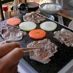 民芸茶屋 清水 - 料理写真:イノブタ焼肉