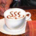 四万温泉 柏屋カフェ - コーヒー