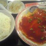 中国料理 上海謝謝 - かに玉定食