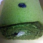 3750082 - お濃茶ロールケーキ