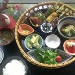 和旬 縁 - 料理写真:5月の日替り竹篭弁当