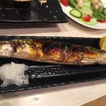 蟹喰楽舞 - 糠秋刀魚初めて食べた。美味しい