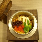 """創作和食×個室居酒屋 松月 - """"食事:鯛とジャコの炊き込みご飯"""""""