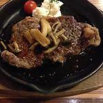 37502615 - ランチ 牛ステーキ