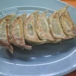新三 - 料理写真:熟成薄皮野菜餃子